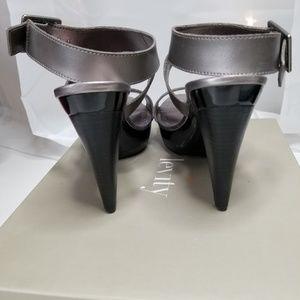 levity Shoes - Levity - Pewter Austin Heels